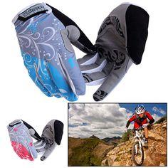 GEL Full Finger Cycling Gloves MTB Bike Bicycle Breathable Windproof Waterproof #Unbranded #FullFinger