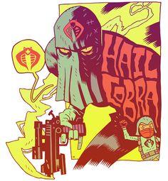 Hail Cobra - G.I. Joe - Dan Hipp