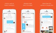Para aqueles com a caixa de e-mail lotada, o aplicativo Mailburn quer eliminar qualquer distração e transformar e-mails em simples conversas de chat.