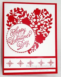 Marvelous Heart Card Ideas For Your Valentines Day 45 – Valentines Day İdeas 2020 Valentines Day Cards Handmade, Homemade Valentines, Love Valentines, Valentine Ideas, Valentine's Day Handmade Cards, Valentine Heart, Diy Cards, Love Is In The Air, Stamping Up Cards
