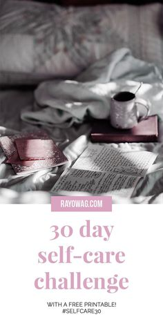 30 day selfcare challenge with a free printable I wanted to create a selfcare challenge for all the busy people out there that need balance selfcare challenge selflove. Love Challenge, Health Challenge, Happiness Challenge, Turn Your Life Around, Health Day, Health Tips, Mental Health, Set Your Goals, Self Care Activities