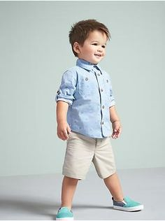 Spring/summer toddler boy outfit inspiration - old navy