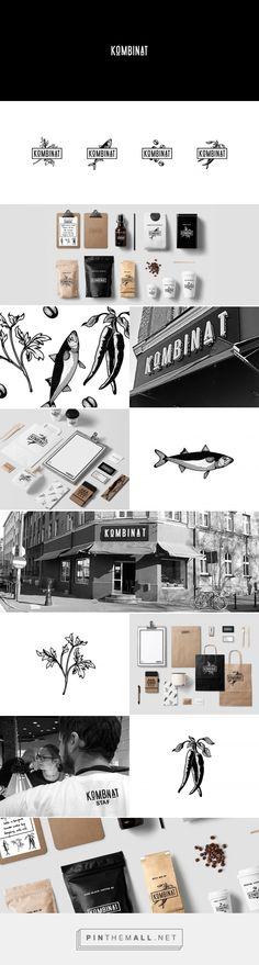 KOMBINAT CAFE & RESTAURANT LOGO DESIGN on Behance - created via…