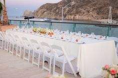 Have a gorgeous Marina view for your reception! #BreathlessCaboSanLucas