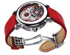 Gerald Genta's Arena Perpetual Calendar GMT Watch