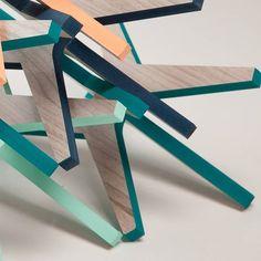 CAVA X. Módulo en X para cava. Laminado en valchromat. Colores varios. 30 x 16 x 16 cm Foto: @alvaromtzv #design #interiordesign #furniture #interiorismo #diseño #Mexico #arte