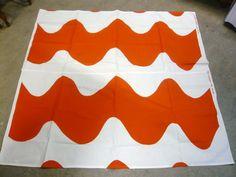 Maija Isola Lokki Vintage Fabric 1961 0809c299ff