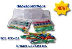 Stacking Backscratchers Activity