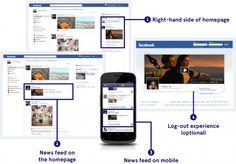Facebook premium ads (statusoppdateringer) kommer direkte inn i din stream, også på smarttelefonen.