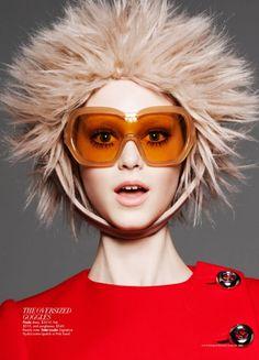 Harper's Bazaar Australia September 2011  model: Jemma Baines  styling: Jillian Davison  photography: Luke Irons
