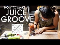 Cutting Board with a Juice Groove — Custom End Grain Cutting Board, Diy Cutting Board, Wood Cutting Boards, Woodworking Jigs, Custom Woodworking, Woodworking Projects Plans, Butcher Block Conditioner, Man Shed, Router Jig