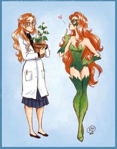 Harleen Quinzell &Poison Ivy. Puggirl2109: That's..not Harleen Quinzel