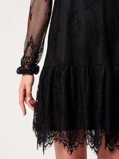 Czarna koronkowa sukienka AFTER HOURS, MOHITO, RP302-99X