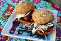 Fresh Recipes | Barbecue Chicken Sliders