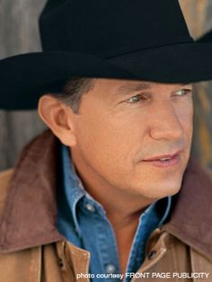 George Strait: great cowboy and great country singer.