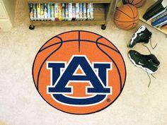 """Auburn Basketball Mat 27"""" diameter"""