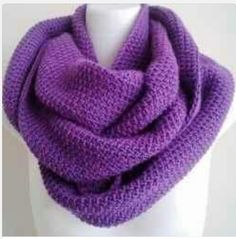 This came from a dead link on Pinterest, so no pattern. I love the color, and the bulkiness of it so much