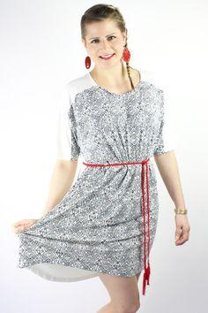Maxikleider - Fledermaus Kleid Ethno Muster - ein Designerstück von JAQUEEN-handmade-streetwear-berlin bei DaWanda