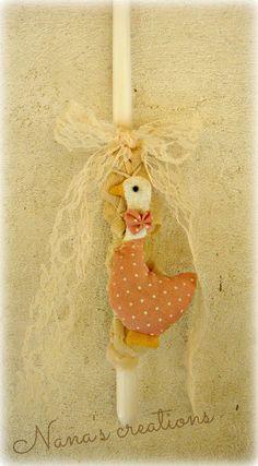 Nana's Χειροποίητες Δημιουργίες: ΛΑΜΠΑΔΕΣ Easter Ideas, Candles, Christmas Ornaments, Holiday Decor, Home Decor, Diy Candles, Decoration Home, Room Decor, Christmas Jewelry