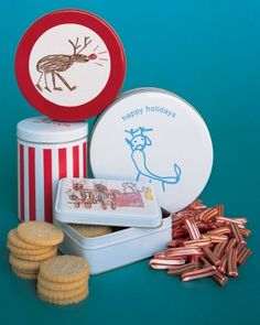 Gifts Kids Can Make: Kids' Decal Cookie Tin