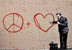 """15 lições de vida que aprendi com Banksy. A """"street art"""" que nos deixa sem…"""