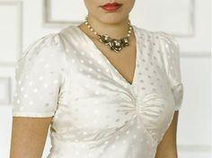 Colette - Oolong gored dress