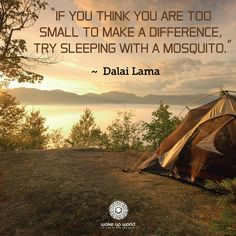 Yea... Mosquitos when camping make a difference... #camping #outdoors #Inspiration