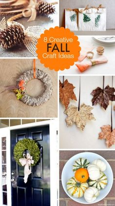 8 Creative Fall Craft Ideas | Bright Bold and Beautiful