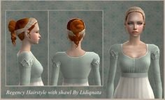 Mod The Sims - *19th century Hairstyles*