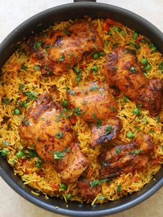 Spicy Chicken And Rice Recipe, Nandos Chicken Recipe, Spicy Chicken Recipes, Chicken Thigh Recipes, Nandos Peri Peri Chicken, Chicken With Rice, French Chicken Recipes, Peri Peri Sauce, Indian Chicken Recipes