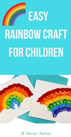 Easy Rainbow Craft F