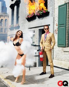 """One of our favorites, Will arnett, in this great series featured in GQ. """"I'm a TV Star and I'm Here to Help."""""""