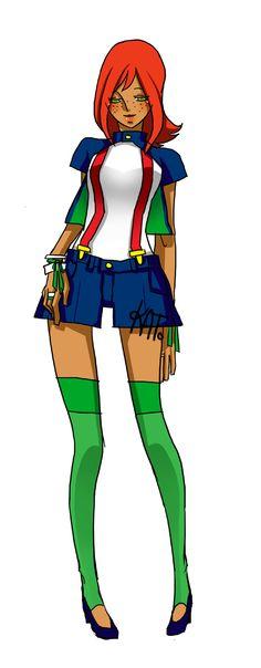 miss martian by Katrina Navarro (via The Mary Sue) Superhero Suits, Superhero Villains, Superhero Design, Superhero Fashion, Power Girl Cosplay, Miss Martian, The Martian, Fandom Fashion, Geek Fashion