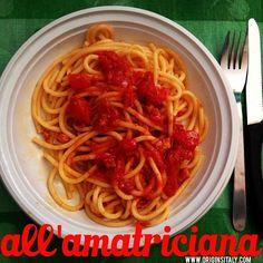 Buon appetito! Bucatini all'amatriciana grazie allo chef - Cugino Pepe! #pranzo #lunch #pasta #allamatriciana #food #italianfood #cibo #cugino #bucatini #instaitalia #instapassport #sauce #italian #nostalgia #heritage #cousin #cook #homecooked #rome #roma #italy