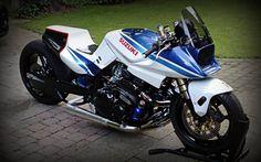 Suzuki Katana Dragster . Beast Bike