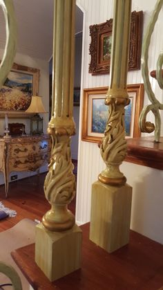 Leo Dowell Interiors — New stair balusters in the vintage style by Leo. Vintage Style, Vintage Fashion, European Style Homes, Famous Interior Designers, Lost Art, Grand Entrance, Dry Brushing, Building Materials, Gold Accents