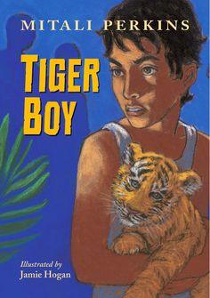 Tiger Boy by Mitali Perkins - J PERKINS