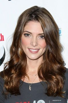 Ashley Greene, her hair and make up look ridiculously perfect!
