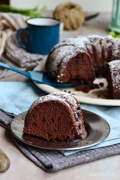 BUNDT CAKE DE CHOCOLATE INTENSO • INTENSE CHOCOLATE BUNDT CAKE