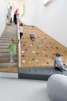 Ama'r Children's Culture House | Children's climbing wall