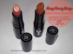 Rouge Bunny Rouge Color Burst Lipsticks    http://thefashionpersonal.blogspot.com/2013/02/rouge-bunny-rouge-color-burst-lipsticks.html
