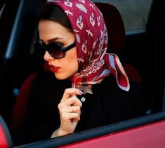 495 Best Driving Images Head Scarf Tying Silk Scarves