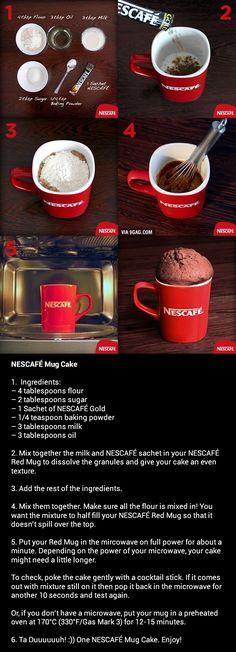 Nescafe Mug Cake