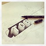 Behance :: Personal identity by Tobias Hall