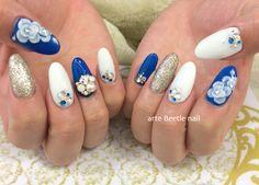 成人式ネイル kimono nail http://hirosebeetlenail.shiga-saku.net/