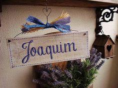 Placa Customizável Joaquim   Olha o que eu fiz...   360106 - Elo7