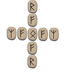 Денежный Крест. #руны #runes