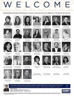 Please help us welcome this impressive group of real estate professionals who associated with Coldwell Banker Residential Brokerage in August! #ColdwellBankerArizona