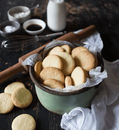 A soetkoekie recipe passed down three generations, that promises to deliver a buttery, flaky and sweet soetkoekie - and will wow your tea time guests. Buttery Cookies, Sweet Cookies, Yummy Cookies, Baking Recipes, Cookie Recipes, Diet Recipes, Recipies, Old Cookie Recipe, Shortbread Recipes