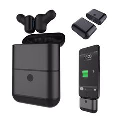 15787c01484 [Truly Wireless] Waterproof Bluetooth Earphone With Charger Box Case Power  Bank